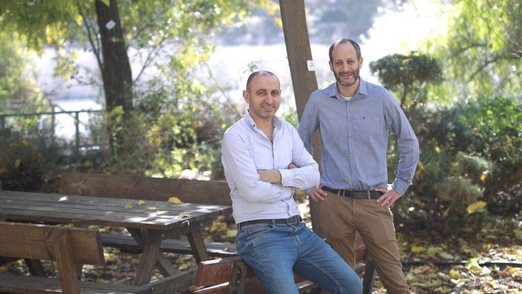 Teramount cofounders CEO Hesham Taha (left) and CTO Avi Israel. (Courtesy of Teramount)