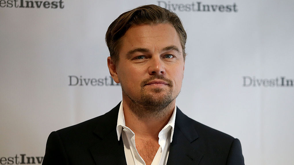 """""""One of the most impactful ways to combat the climate crisis is to transform our food system,"""" says Leonardo DiCaprio. (Justin Sullivan/Getty Images)"""