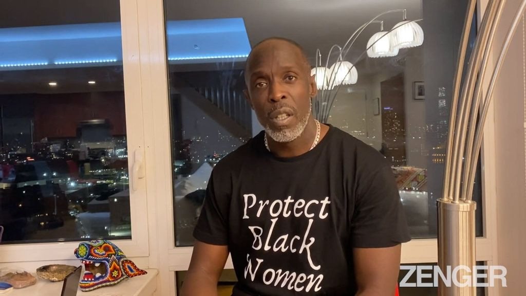 Michael K. Williams recorded an award acceptance speech for the National Council of Black Women in the days before his Sept. 6 death. It may be the late actor's final videotaped message about his life's traumas and how the arts saved him. (NCBW/Zenger)