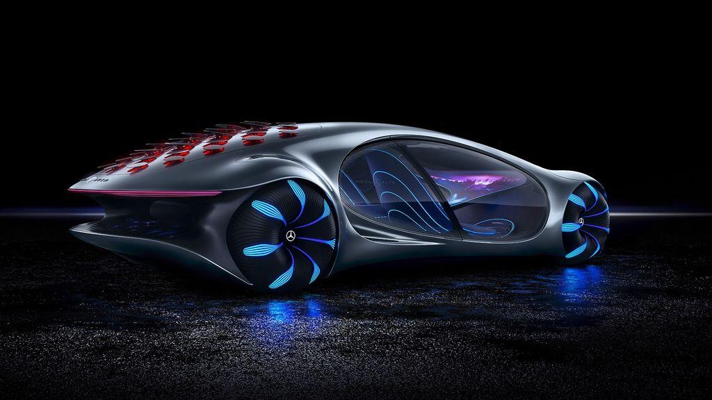 Vision AVTR concept car. (Mercedes-Benz AG)