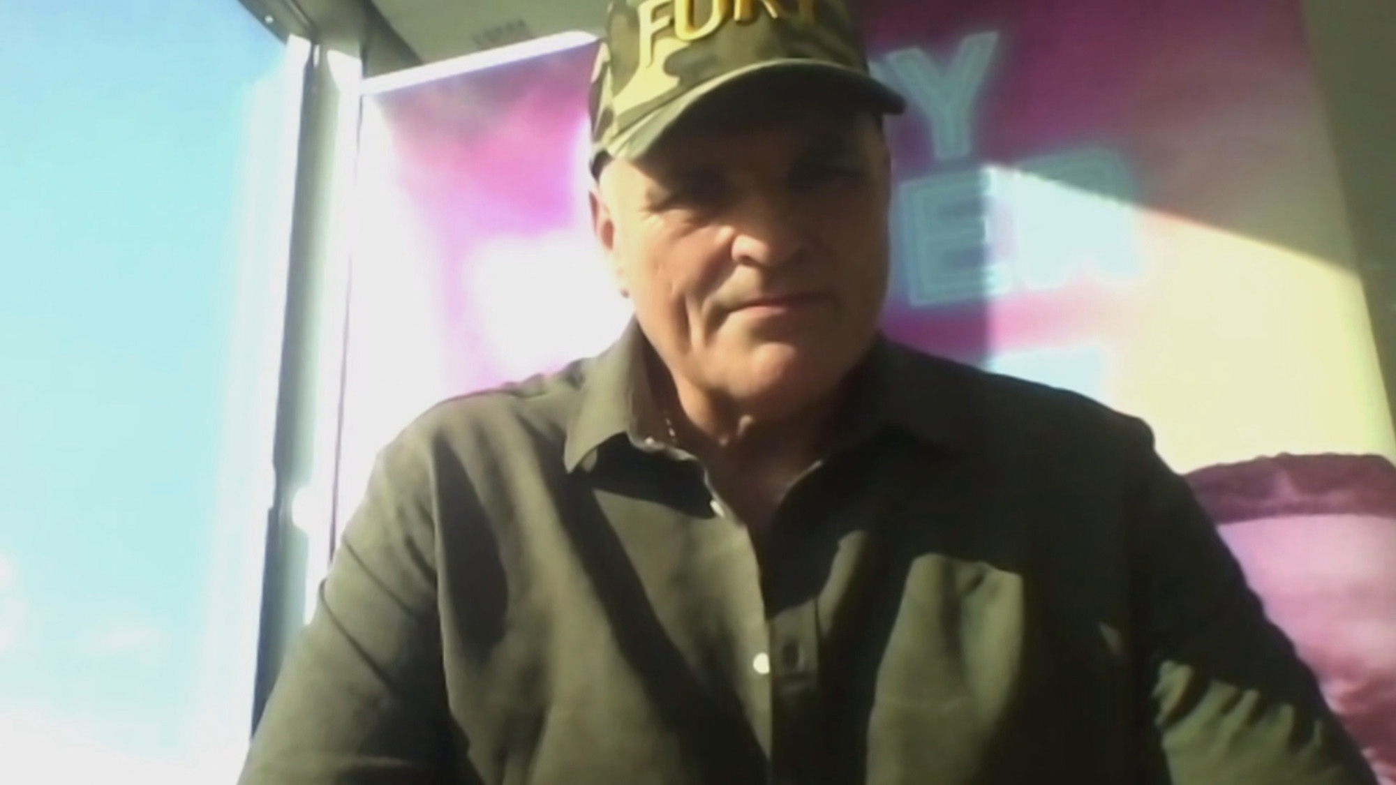 John Fury spoke with Hayters TV about his son's Saturday bout with Deontay Wilder. (Hayters TV/Zenger)